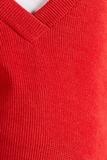 Свитер для беременных 09734 красный