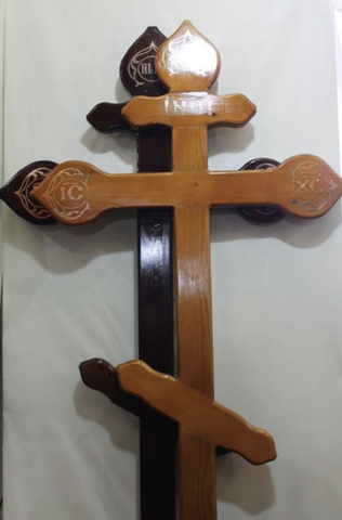 Крест на могилу сосна