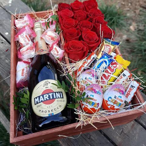Розы, Мартини и сладости