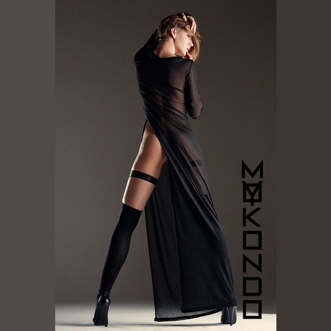 MyMokondo Dress Long Slyle (Черный, M)