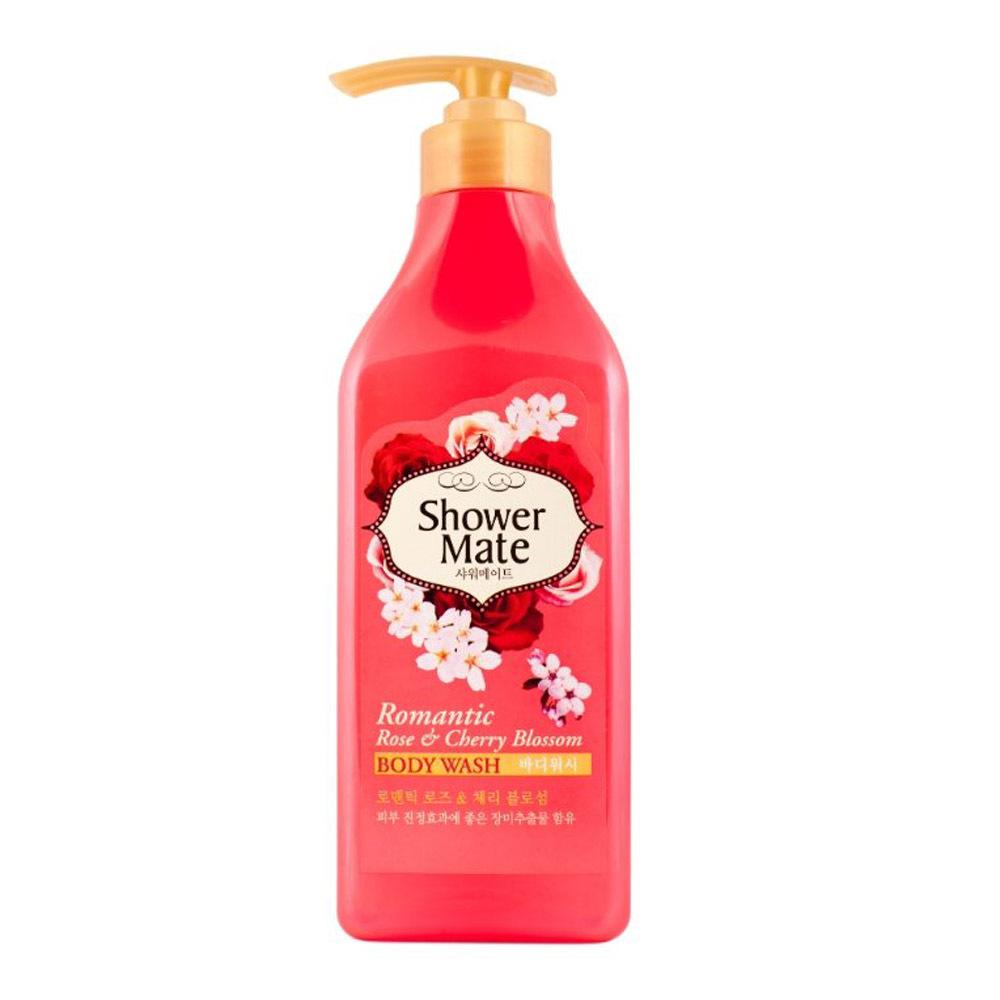 Гель для душа Shower Mate Роза и вишневый цвет
