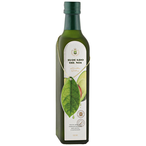 Avocado oiL №1, Гипоаллергенное масло авокадо, 500мл