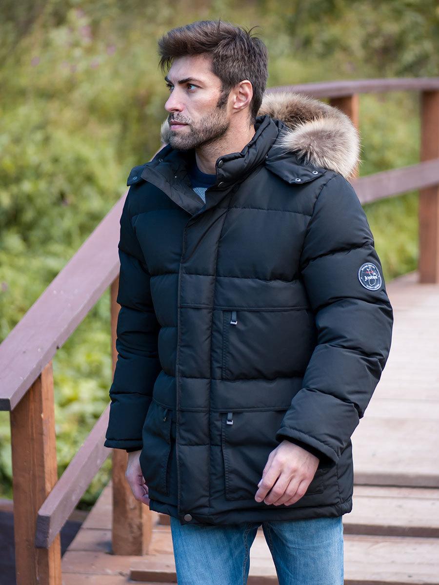 Joutsen пуховик Arctic Star Fur черный