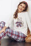 Женская пижама с мишкой DiBen