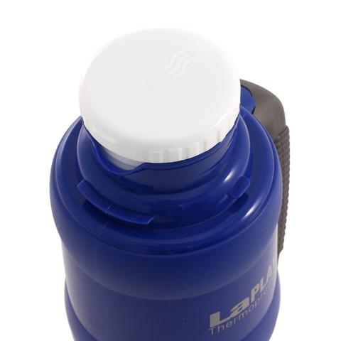 Термос LaPlaya Traditional 35-100 (1 литр) со стеклянной колбой, ярко-синий