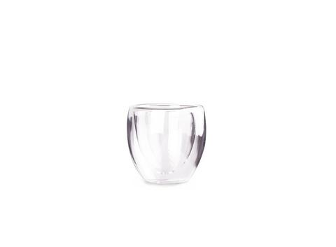 Необжигающая чашка из жаропрочного стекла 100 мл