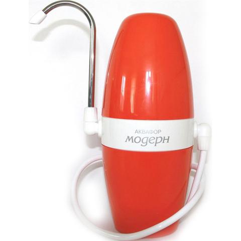 Фильтр очистки воды  Аквафор Модерн (модель 1) оранжевый