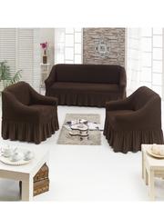 Чехол на диван и два кресла (комплект универсальный) 0016