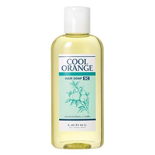 Lebel Cool Orange Hair Soap Super Cool - Шампунь для волос «Супер Холодный Апельсин»