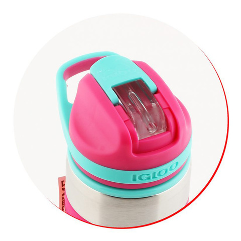 Термокружка Igloo Swift 14 (0,41 литра), розовая