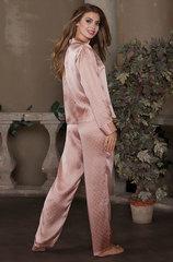 Шелковая пижама с брюками и длинным рукавом Миа-Миа