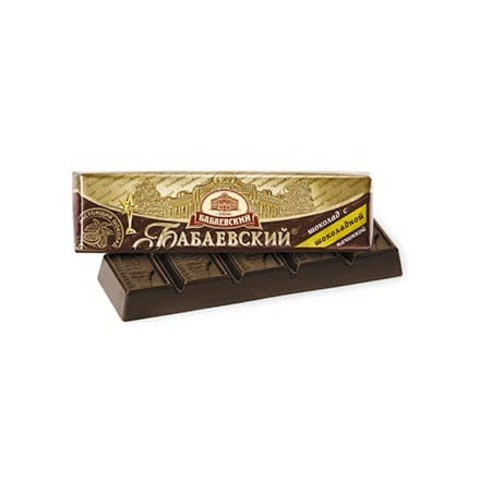 Батончик Бабаевский с шоколадной начинкой, 50 гр.