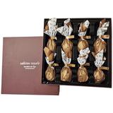 Конфеты Инжир в молочном шоколаде с начинкой из соленой карамели Rabitos 142 г  8 конфет