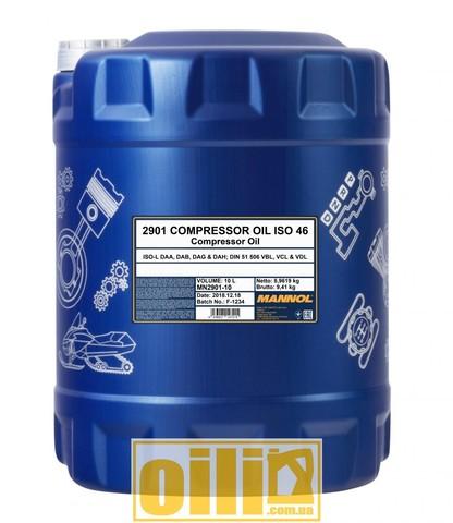 Mannol 2901 COMPRESSOR OIL ISO 46 10л
