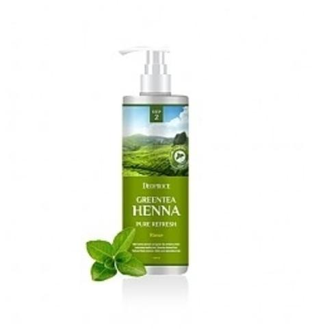 Deoproce HAIR GREENTEA Бальзам для волос с зеленым чаем и хной DEOPROCE RINSE - GREENTEA HENNA PURE REFRESH 1000мл