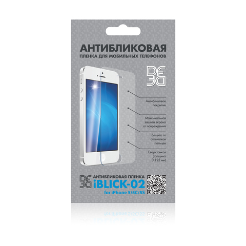 Защитная пленка iPhone 5/5c/5s