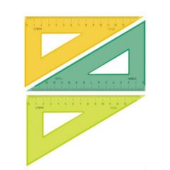 Треугольник Neon Cristal пластиковый 13 см 30 градусов в ассортименте