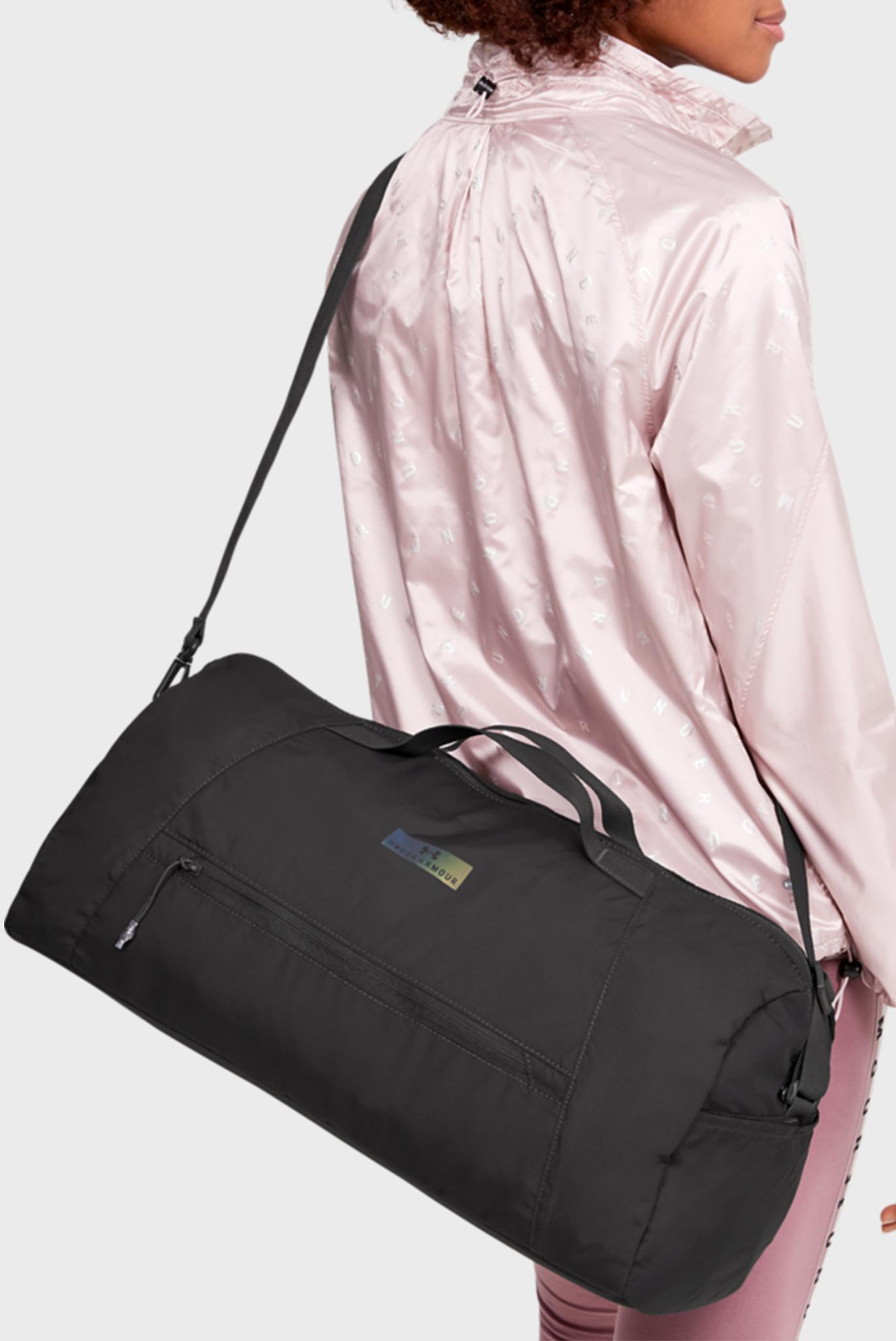 Женская серая спортивная сумка UA Midi Duffel 2.0 Under Armour