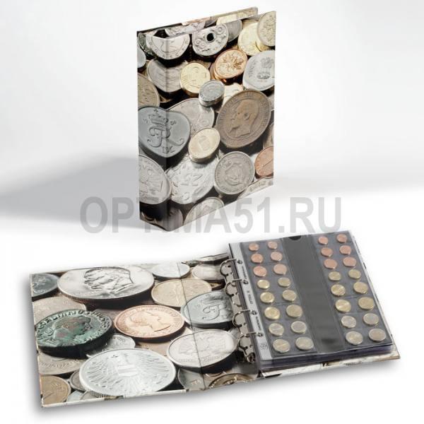 """Альбом OPTIMA, для монет """"coinS"""" (тематическая обложка)"""