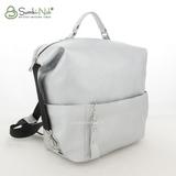 Сумка Саломея 134 серебро (рюкзак)