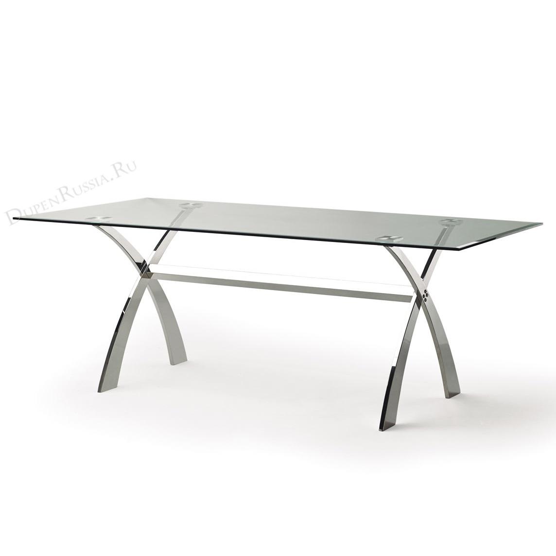 Обеденный стол DUPEN DT-18 Прозрачный