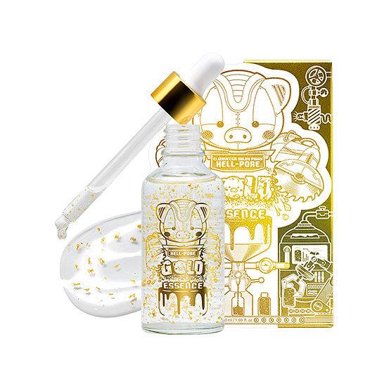 ELIZAVECCA Эссенция для лица с золотом elizavecca milky piggy hell-pore gold essence 50мл eliz-hell-pore-essense-gold.jpg
