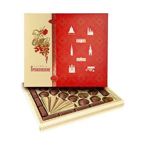 Конфеты в коробке Кремлевские, Рот Фронт, 450 гр.
