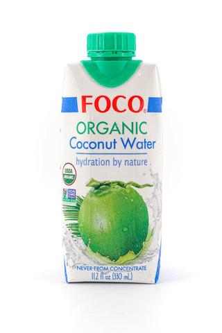 Органическая кокосовая вода FOCO   330мл.