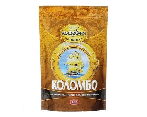 купить Кофе растворимый Московская Кофейня на Паяхъ Коломбо, 190 г пакет