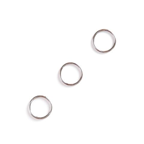 Кольцо для бретели никель 12 мм (металл)