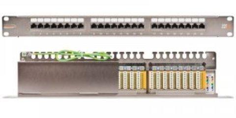 Патч-панель NIKOMAX NMC-RP24UE2-HU-BK