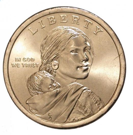 Набор Сакагавея из 6 монет 1$ 2015-2020 (Двор D)