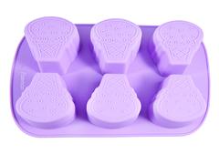 """6540 FISSMAN Форма для выпечки """"Рожок мороженого"""" 26,2x16,5x3,5 см"""
