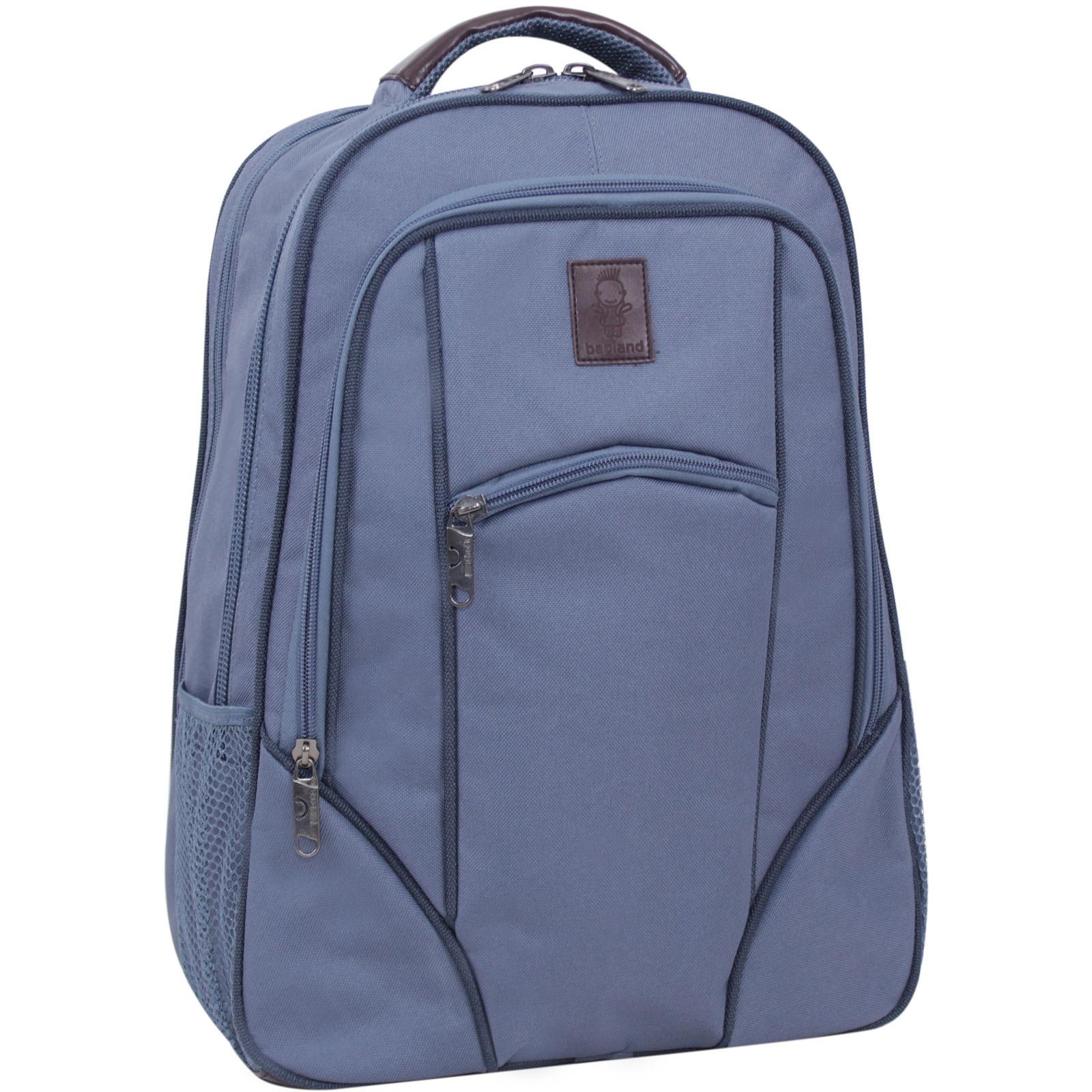 Городские рюкзаки Рюкзак для ноутбука Bagland Рюкзак под ноутбук 537 21 л. Серый (0053766) IMG_8815-1600.jpg