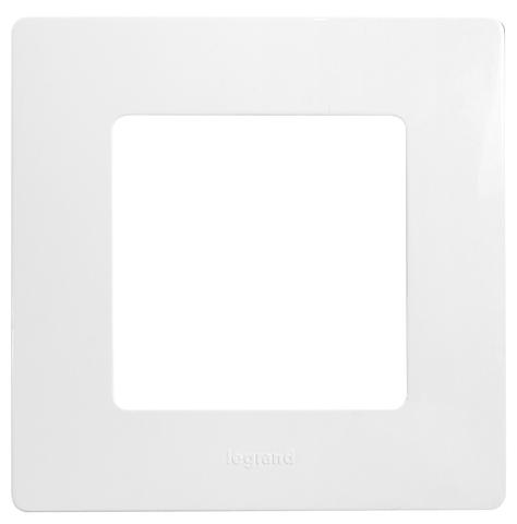 Рамка на 1 пост. Цвет Белый. Legrand Etika (Легранд Этика). 672501