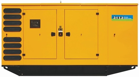 Дизельный генератор Aksa AP 500 в кожухе