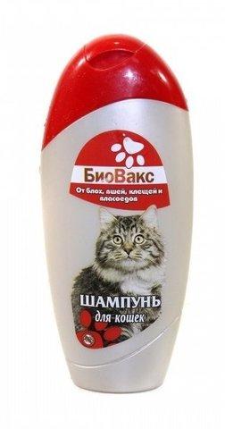 Биовакс шампунь для кошек 200 мл.