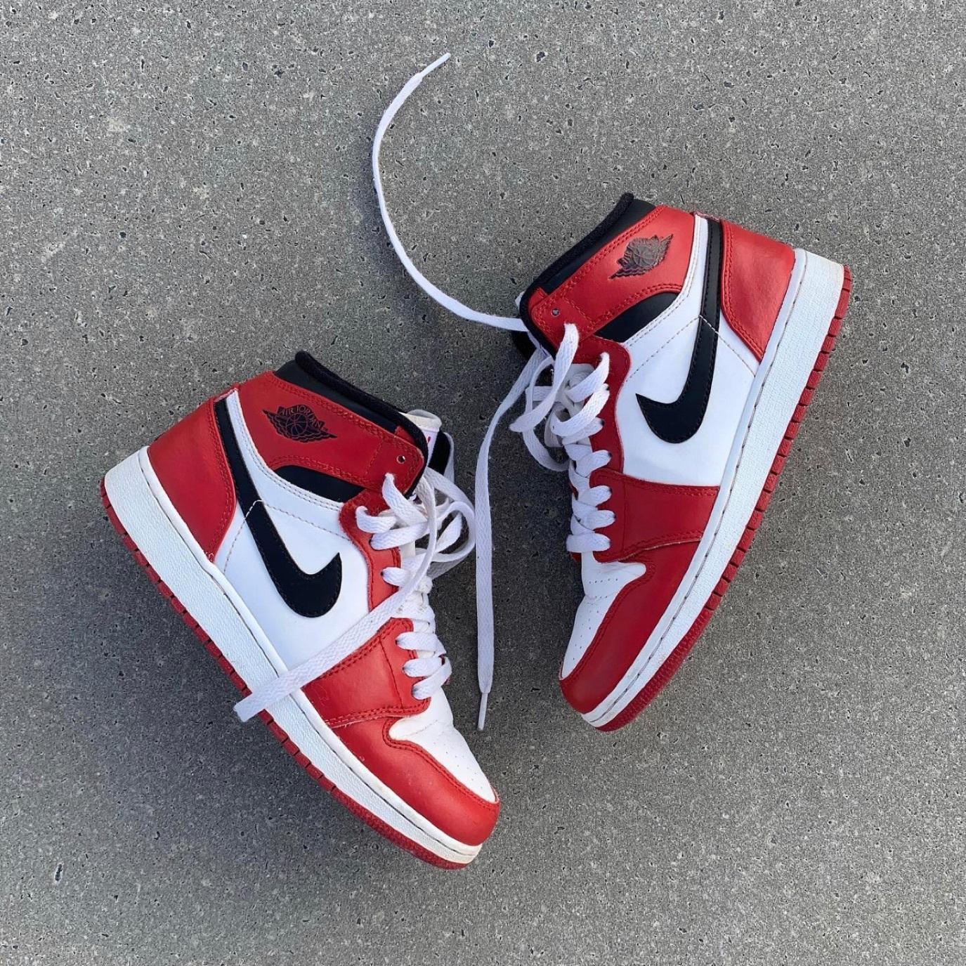 Nike Air Jordan 1 Retro White/Red