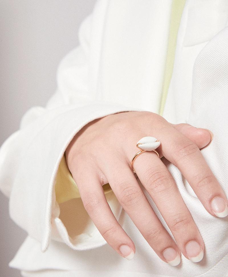 Кольцо Mini Shell