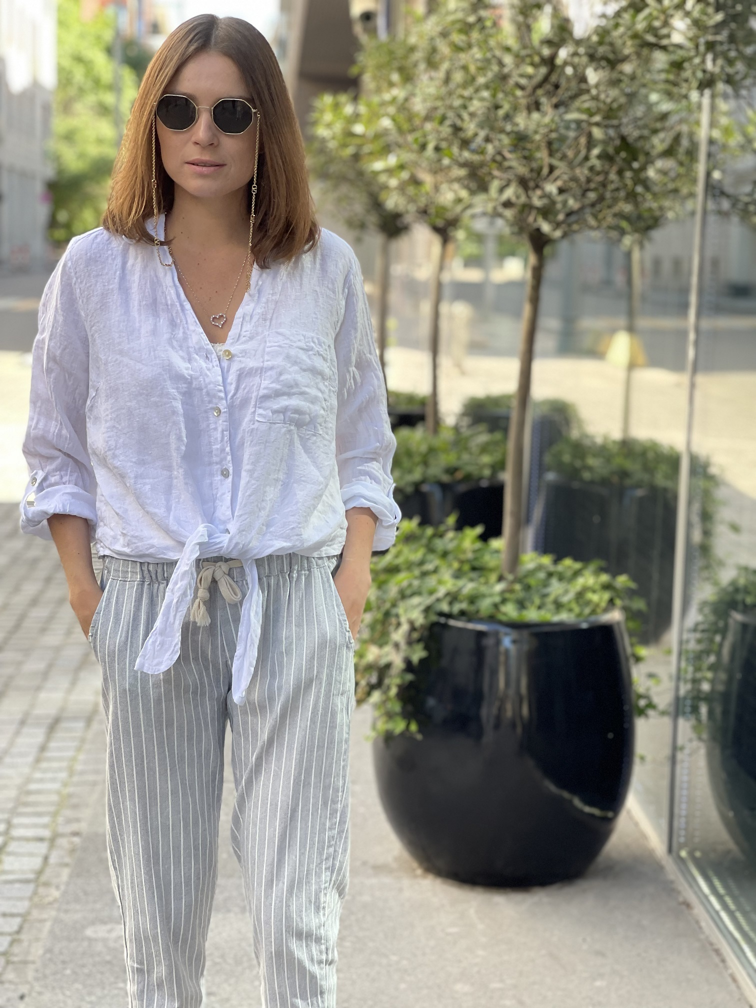 Рубашка, UNO, Easy (белый)