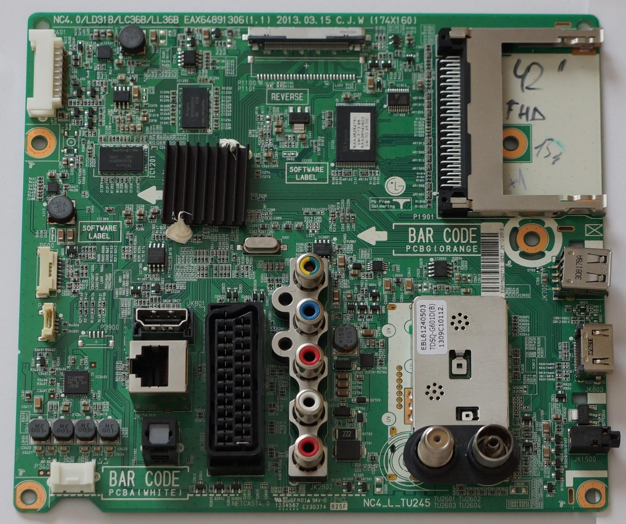 EAX64891306(1.1) EBR76922718 купить