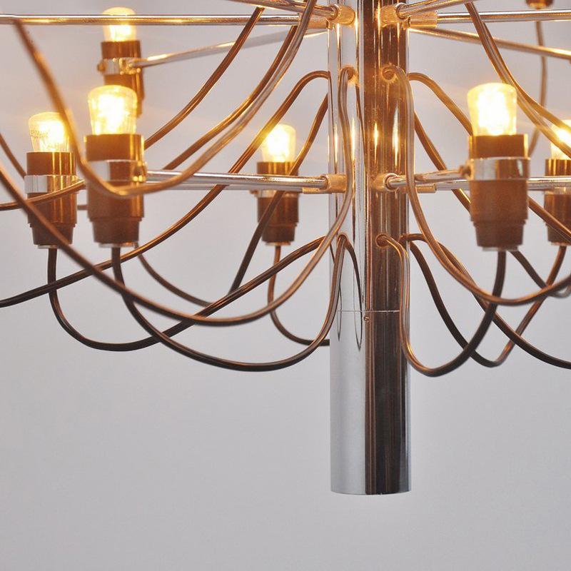 Подвесной светильник копия 2097 30 by Flos (золотой)