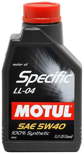 Motul Specific BMW LL04 5W40 Синтетическое моторное масло