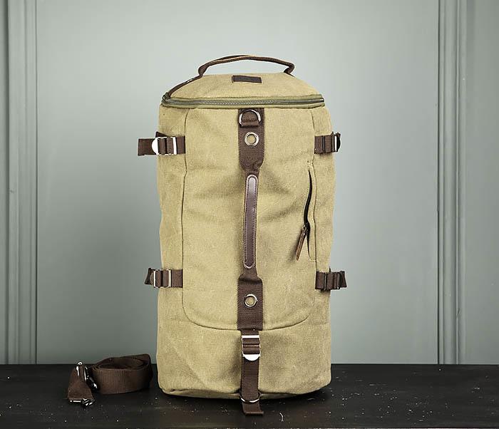 BAG309-3 Мужская сумка сумка рюкзак из плотного текстиля