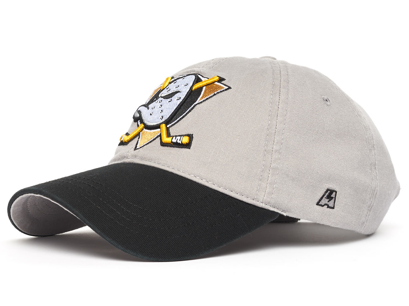 Бейсболка NHL Anaheim Ducks серая