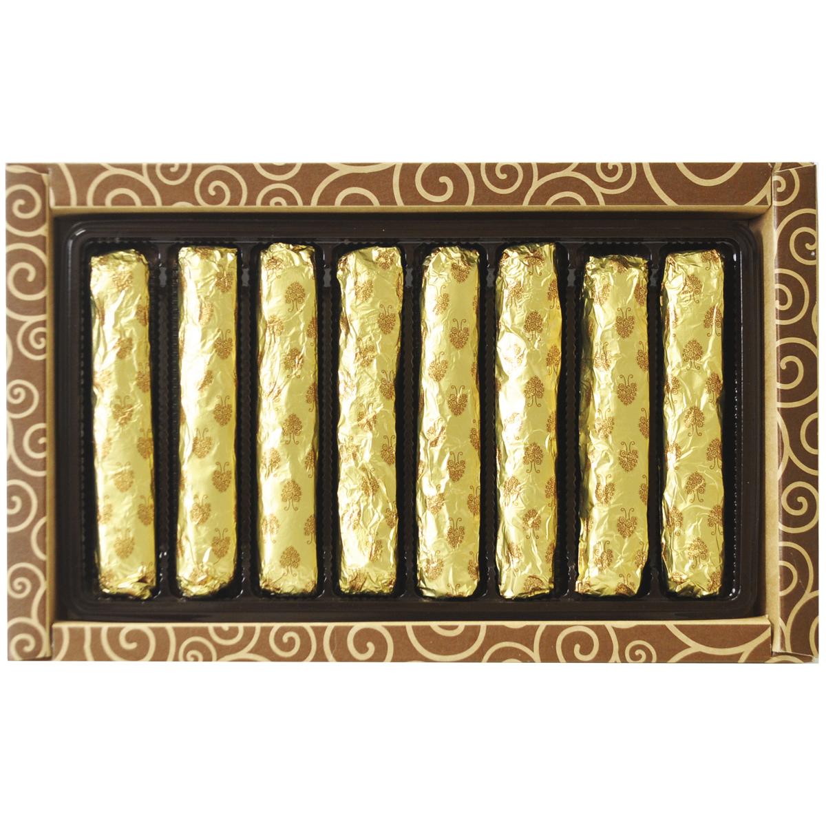 Кедровые палочки в шоколадной глазури, 190 гр