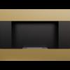 Встраиваемый в стену биокамин Kratki Bravo (золотой)