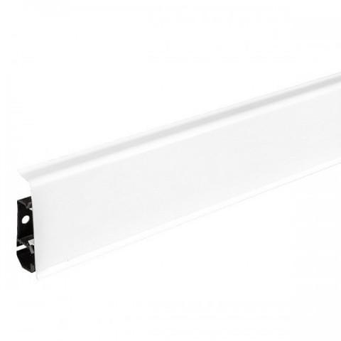 Плинтус Arbiton INDO70 01 Белый блеск 2,5 м  с к/к м/к