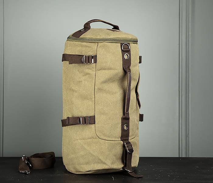BAG309-3 Мужская сумка сумка рюкзак из плотного текстиля фото 02