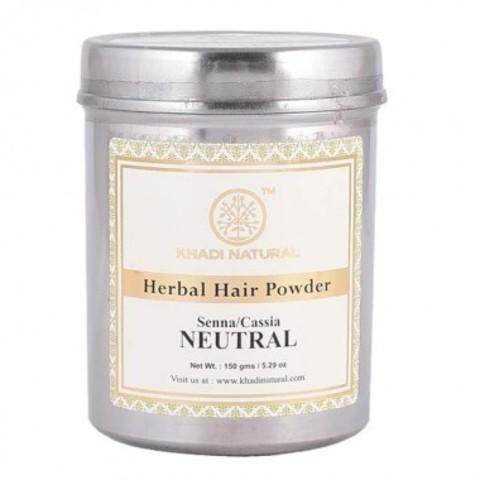 "Хна для волос бесцветная ""Сенна/Кассия"" Khadi Natural, 150 гр"